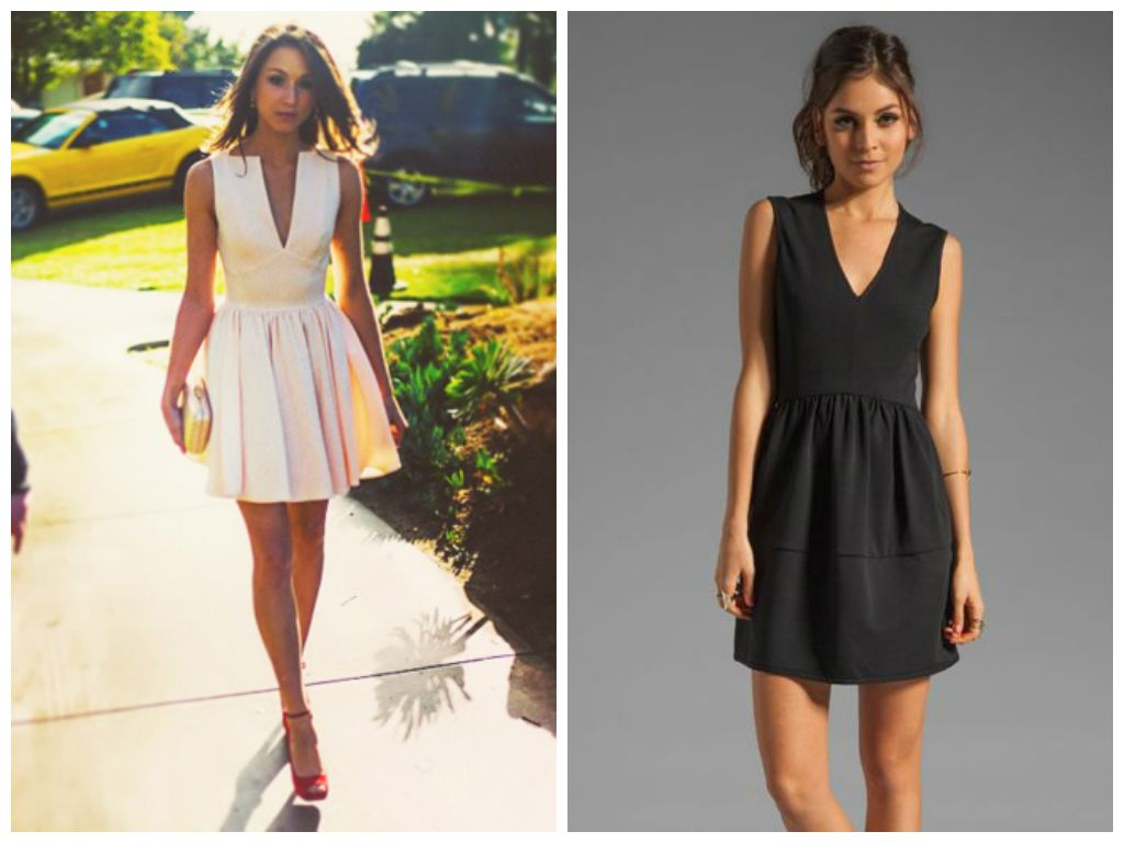 What to Wear on a First Date Without Knowing Where You're Going   http://www.ealuxe.com/wear-first-date-without-knowing-youre-going/  V Neck dress