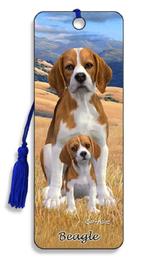 Artgame 3d Dog Bookmark New Beagle 3d Dog Bookmarks Beagle