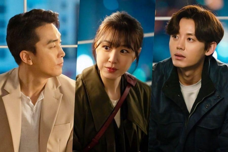 "Song Seung Heon And Seo Ji Hye Grow Closer Over A Meal As Lee Ji Hoon Looks On In ""Dinner Mate"""