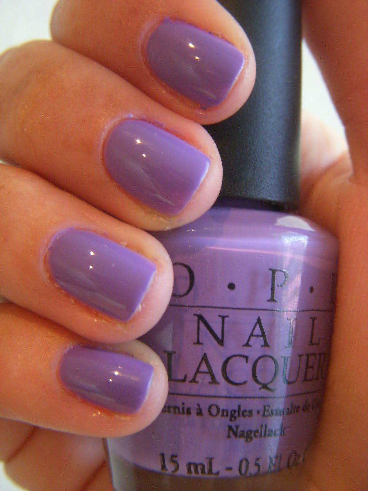 OPI Lavender.. I think I have this one? Not sure..   nails ...