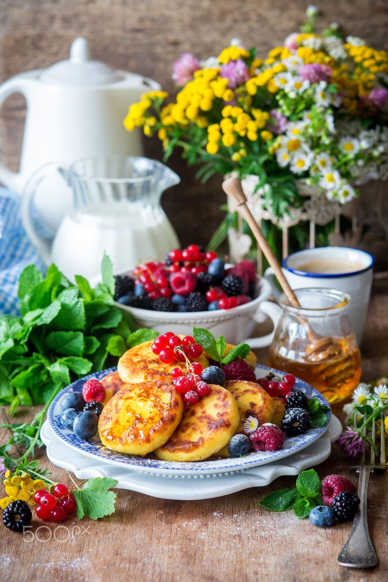 один красивые картинки еды и чаепития расскажите
