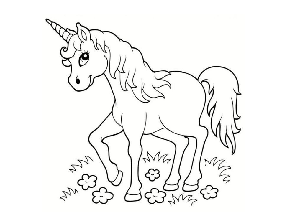 Licorne Kawaii Coloriage 11 Plus Récent Licorne Kawaii