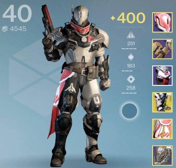 Destiny Armor/Shader Combo - Barrier Ethos Shader | Destiny