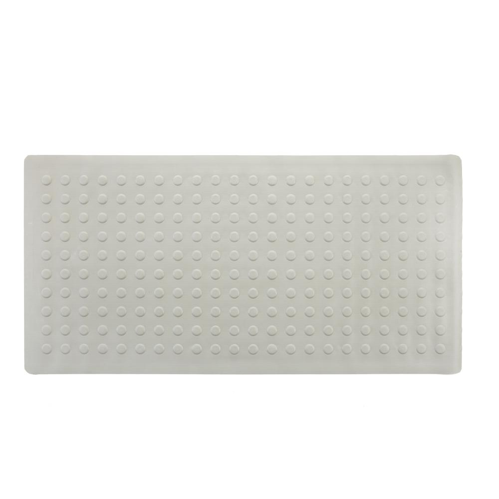Slipx Solutions 18 In X 36 In Extra Long Rubber Bath Safety Mat