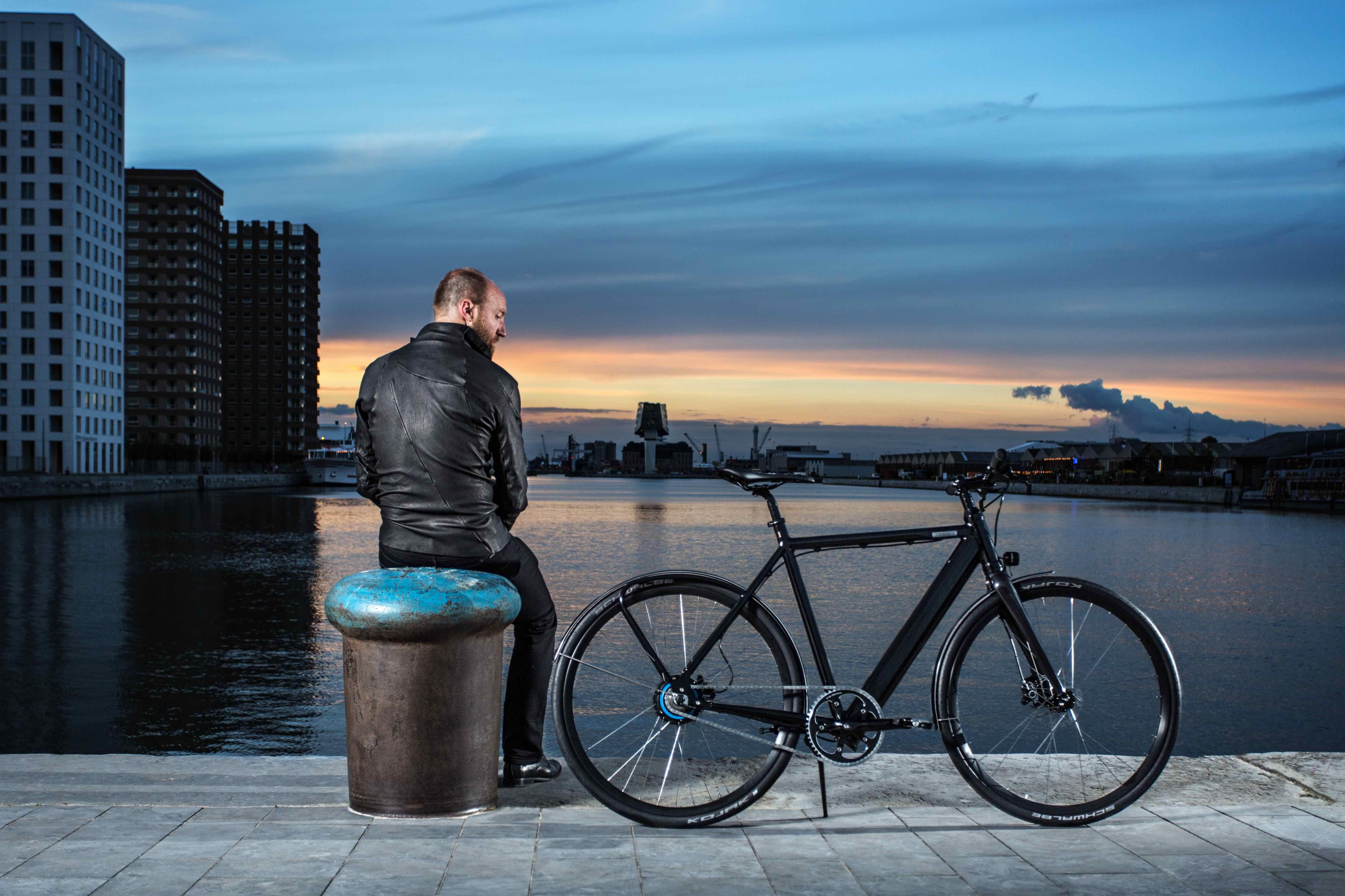 Seven Vesterbro Coboc E Bikes Leichtes Gewicht Geradliniges Design Elektrofahrrad Knight Rider Fahren