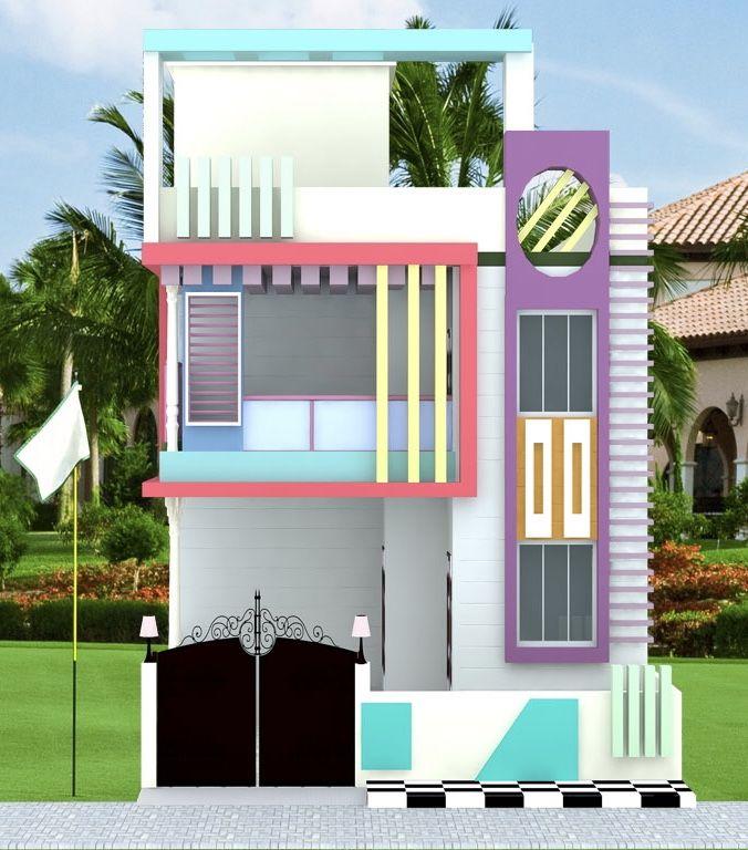 Elevation Plan Of Curvy House Ile Ilgili Grsel Sonucu Mimari
