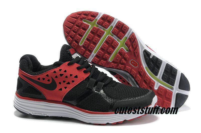 Cabaña Muy enojado Frugal  Mens Nike Lunarswift 3 Black/University Red Shoes | Nike men, Nike ...