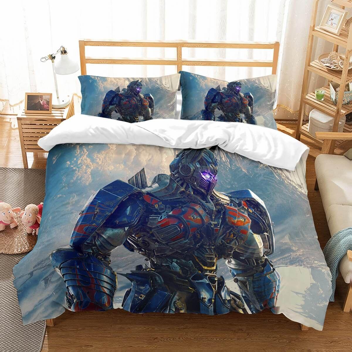 Customize Transformers Bedding Set Duvet Cover Bedroom Bedlinen