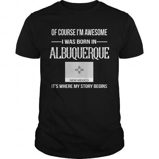 Albuquerque New Mexico Shirts New Mexico T Shirt