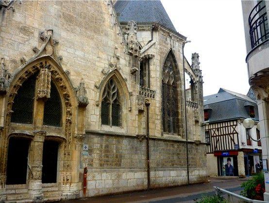 la chapelle saint Jacques Vendôme, Loir et cher 41 France