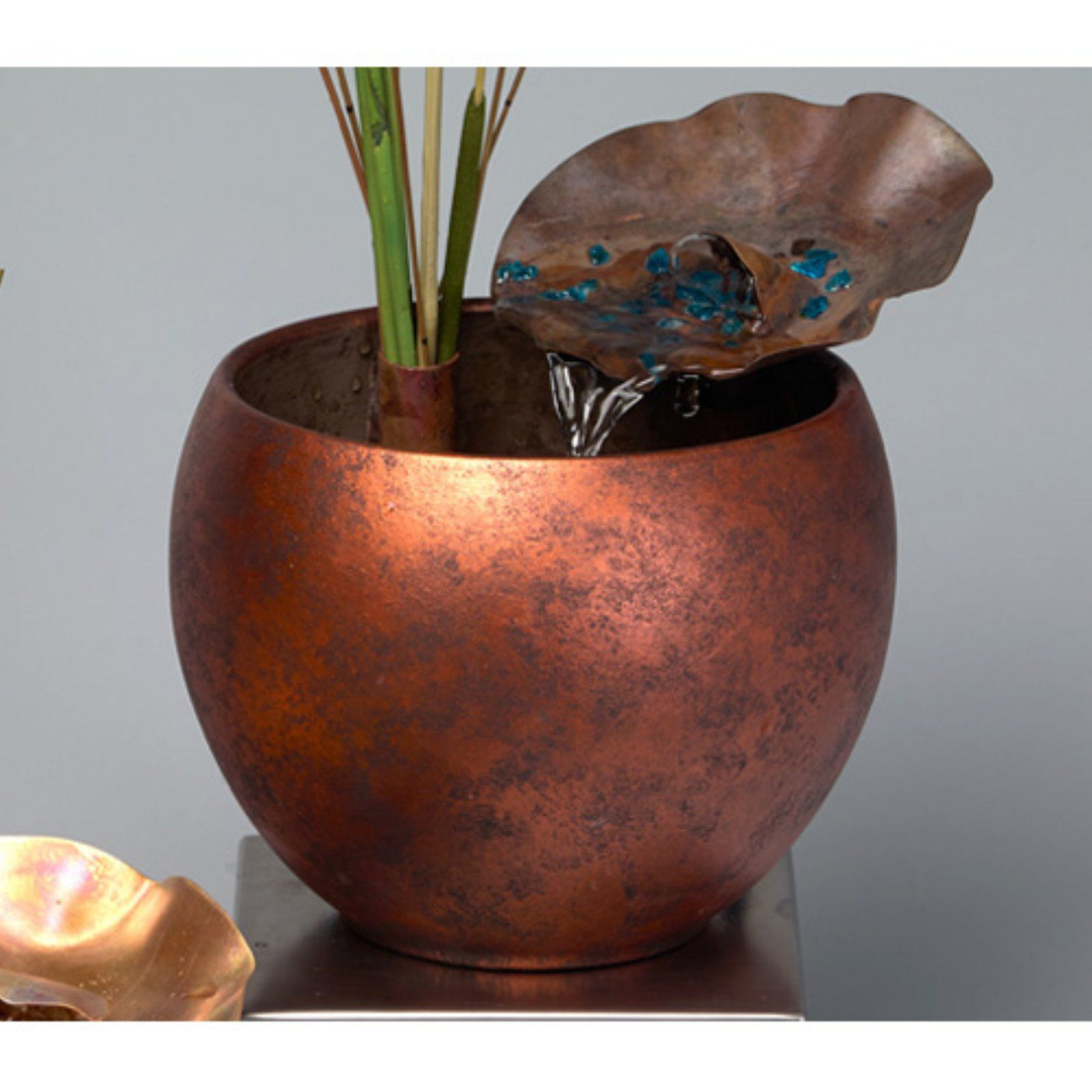 Nayer Kazemi Water Art 1611 Natures Grace Indoor Fountain