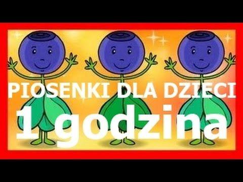 Piosenki dla dzieci 1 godzina BZYK.tv - YouTube