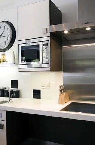 Microwave On Wall Ideas Monika S Board Pinterest Counter Top