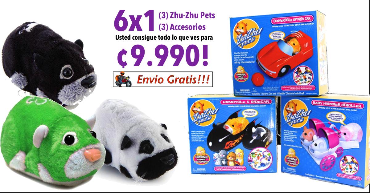 Zhu Zhu Pets 6x1 9 990 Zhu Zhu Pets Character