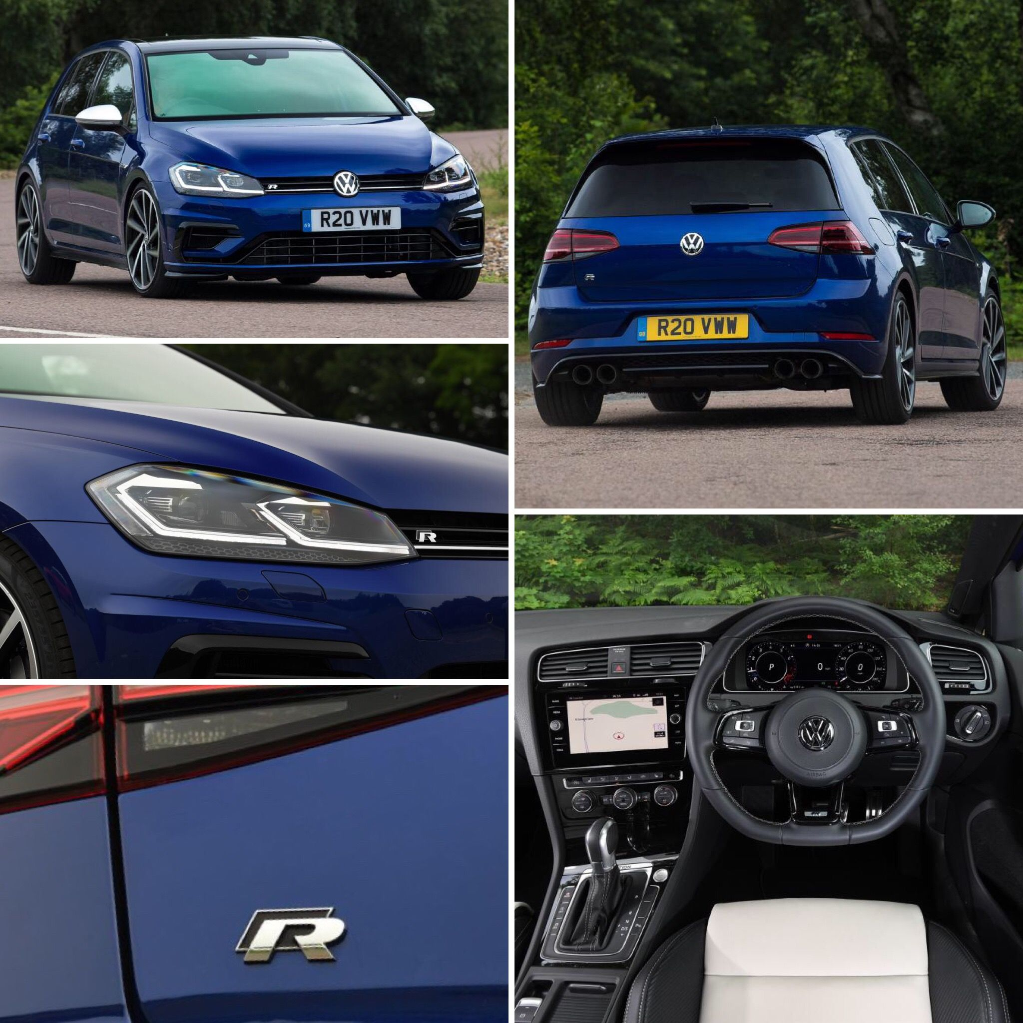 2018 Volkswagen Golf R With Performance Pack Source Autoexpress Uk