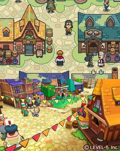 Fantasy Life: 2D/3D screenshot comparison - Tiny Cartridge 3DS - Nintendo 3DS, DS, Wii U, and PS Vita News, Media, Comics, & Retro Junk