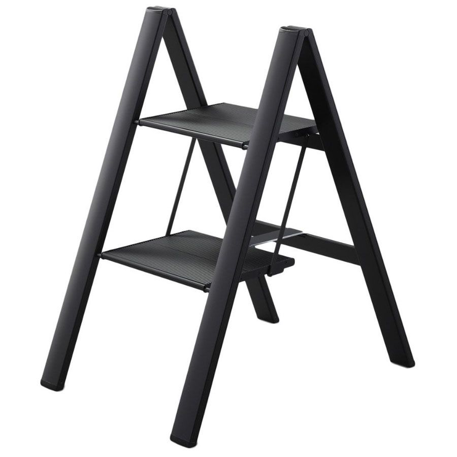 folding aluminum step stool a compact portable and lightweight step