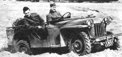 Bantam Jeep Gpv Prototype Delivered On Time In September 1940 Bantam Jeep Monster Trucks