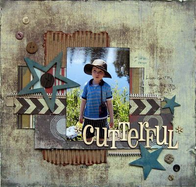 Cutterful - Boys Rule Scrapbook Kits