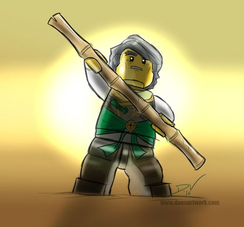 Veesearts today s lego ninjago digital sketch practice - Sensei ninjago ...