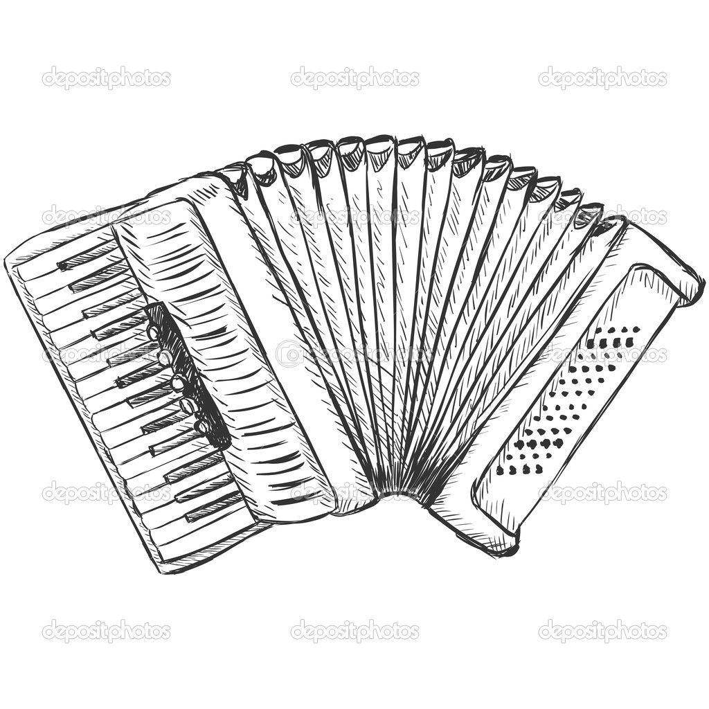 Dessin Accordéon accordéon dessin - recherche google | instrument de musique