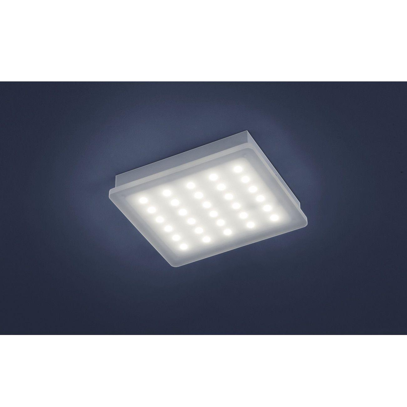 Quadratische LED-Deckenlampe / Wandleuchte (groß) mit schönem ...
