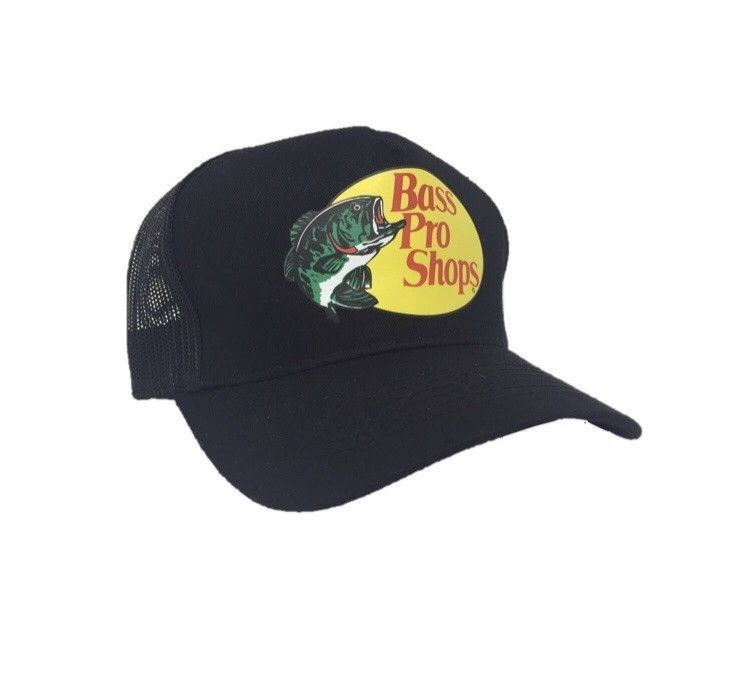 Bass Pro Shops Hat Twill Adjustable SnapBack Baseball Fishing Outdoor Cap