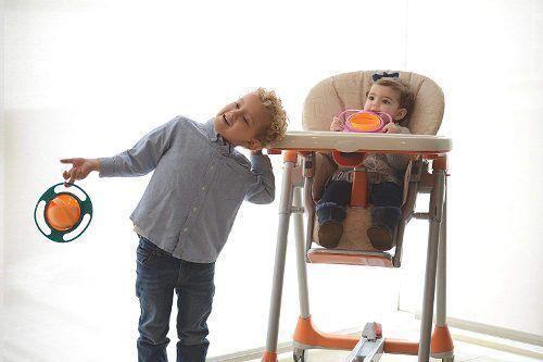 Plato Antiderrame Bebes 360 Alimentacion * Envio Gratis