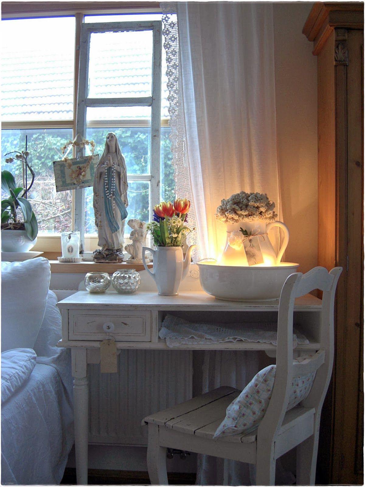 L a n d l i e b e cottage garden romantisch wohnen pinterest - Wohnzimmer romantisch einrichten ...