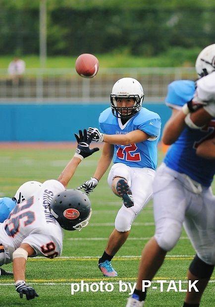 大阪体育大学vs滋賀大学 10月6日 @王子スタジアム ご提供:P-TALK こちらの写真は   http://www.p-gallery.jp/stm_shimizu.html   にてお求めになれます。