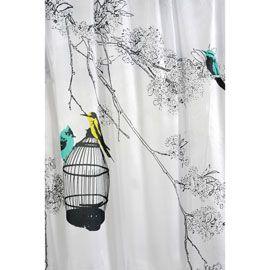 bathroom curtain white. Black Bedroom Furniture Sets. Home Design Ideas