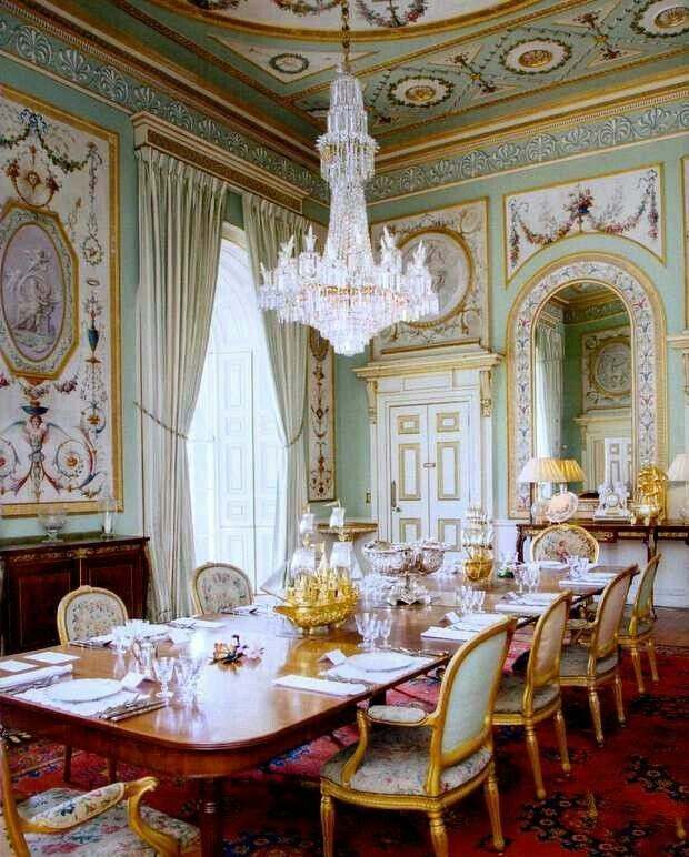 French Dining Room In Paris