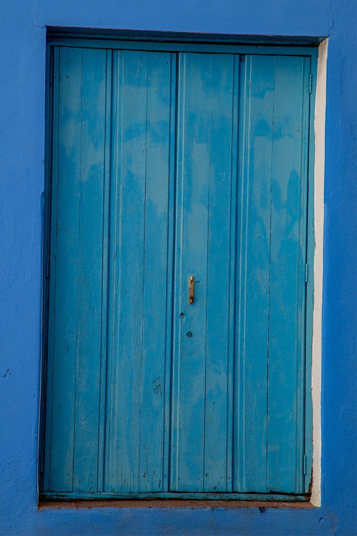 Digital download travel photography trinidad cuba blue door
