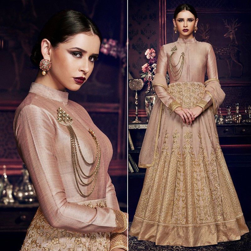 Anarkali dress for women indian designer pakistani salwar kameez ...