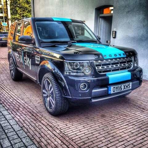 New team car for Team Sky