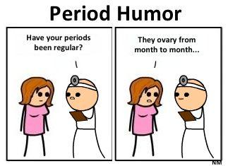 04bd50e7 Period Humor! | Make a funny little bunny | Period humor, Pms humor ...
