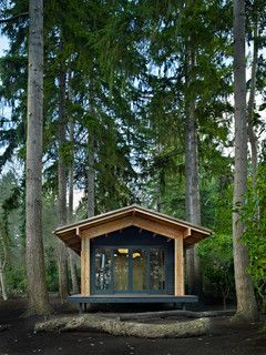 Garden Studio modern garage and shed seattle by SHKS