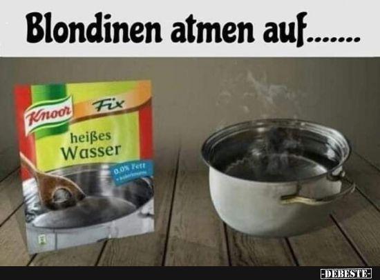 Photo of Blondinen atmen weiter …