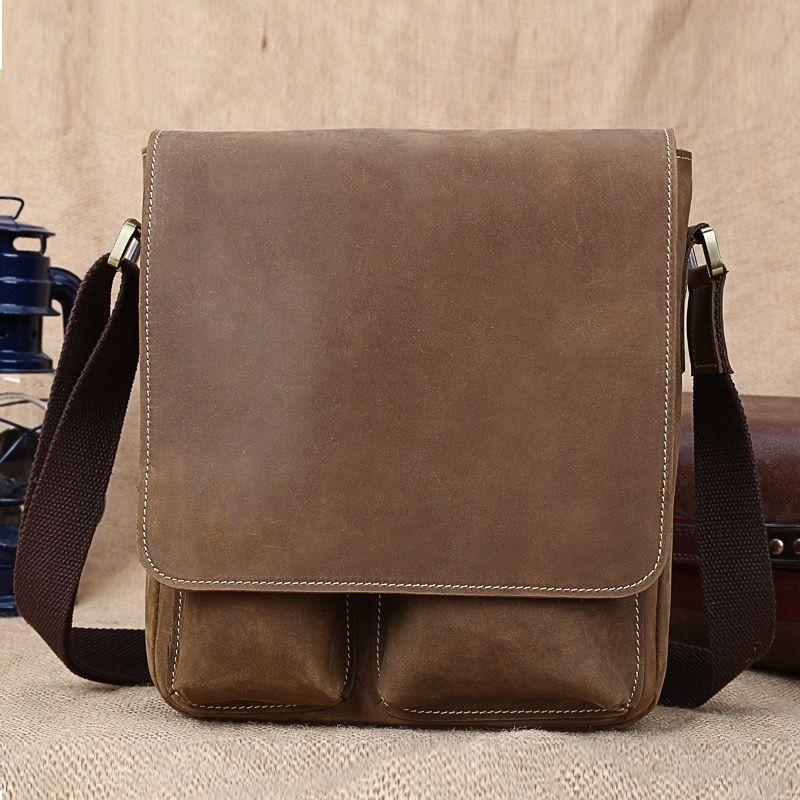 Housse en cuir rokker Duffle Bag Dark Brown qm69uwefK