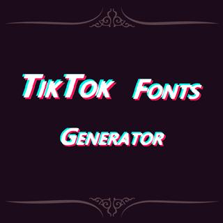 Generate Fancy Fonts For Tiktok Fancy Fonts Text Generator Font Generator
