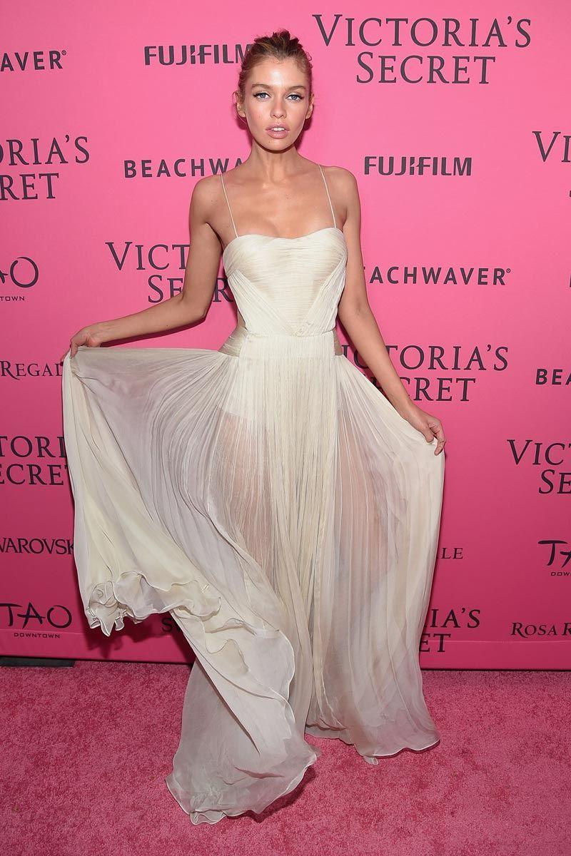La \'afterparty\' Victoria´s Secret 2015 | Vaporoso vestido, Victoria ...