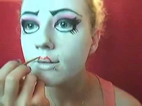 Doll Costume Makeup | Creepy Cute Doll Makeup - AgaClip - Make ...