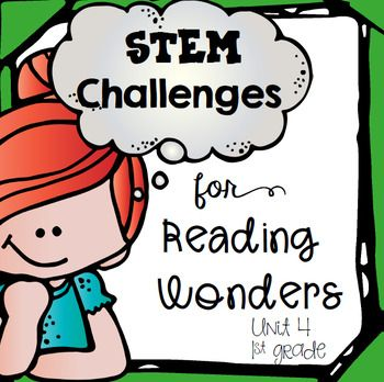 STEM Literature Based Makerspace Activities for Reading Wo