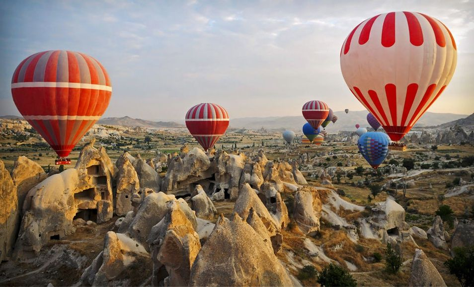 15Day Guided Tour of Turkey Kolin Hotel Air balloon