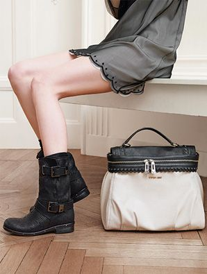 Botas y bolso de Twin Set