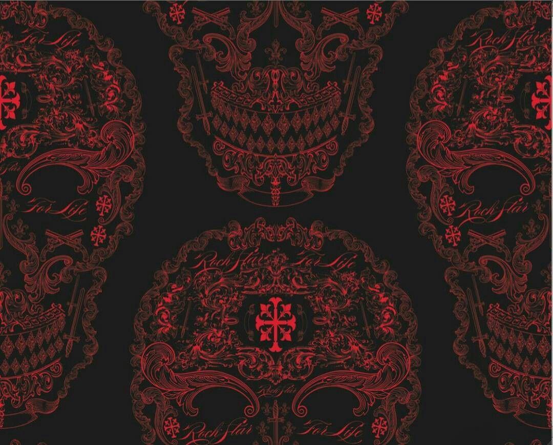 Red Black Skull Wallpaper Gothic Wallpaper Black Skulls Wallpaper Skull Wallpaper
