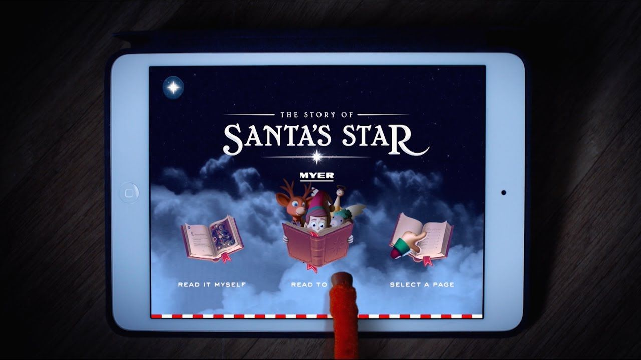 Myer Christmas Storybook: The Story of Santa's Star, by Clemenger BBDO and aardman for Myer. Christmas campaign 2016