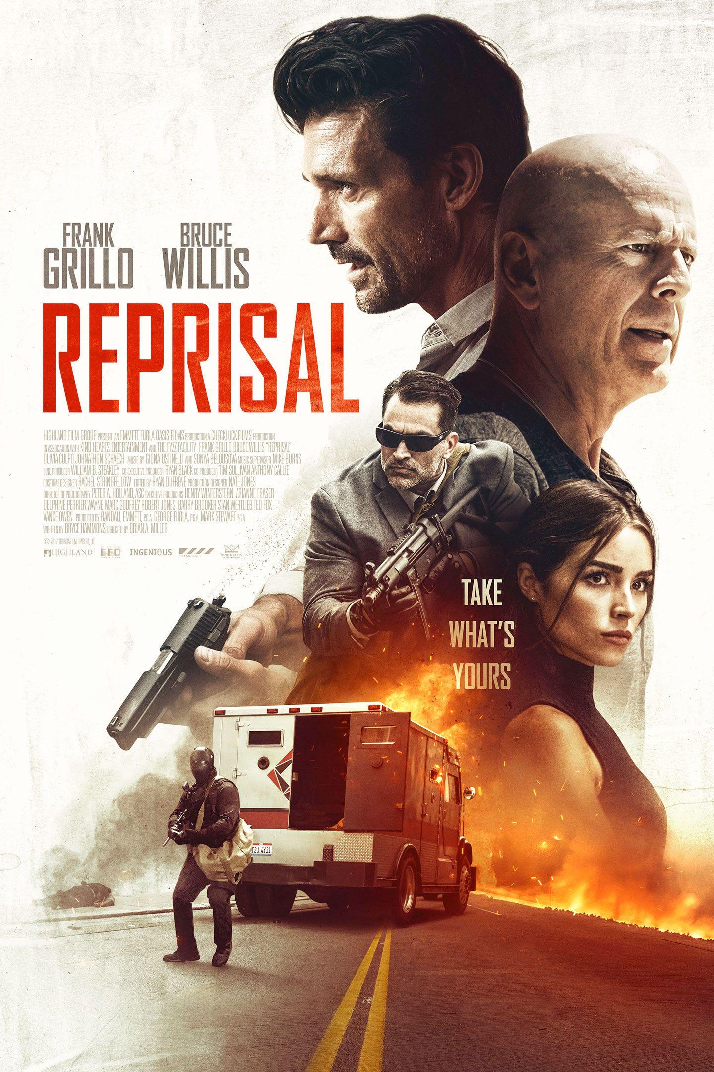 Reprisal new film poster