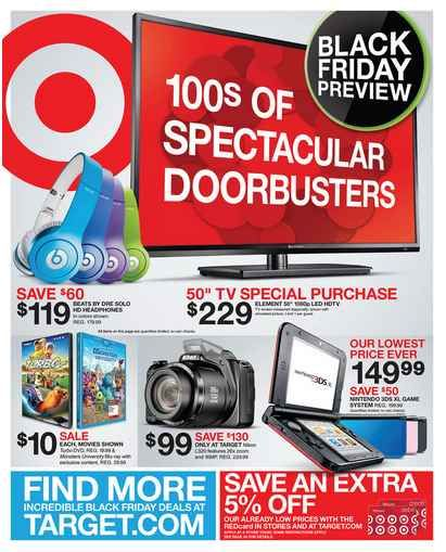 Check Out The Preview Of The Target Black Friday Ad Black Friday Ads Black Friday Target Black Friday
