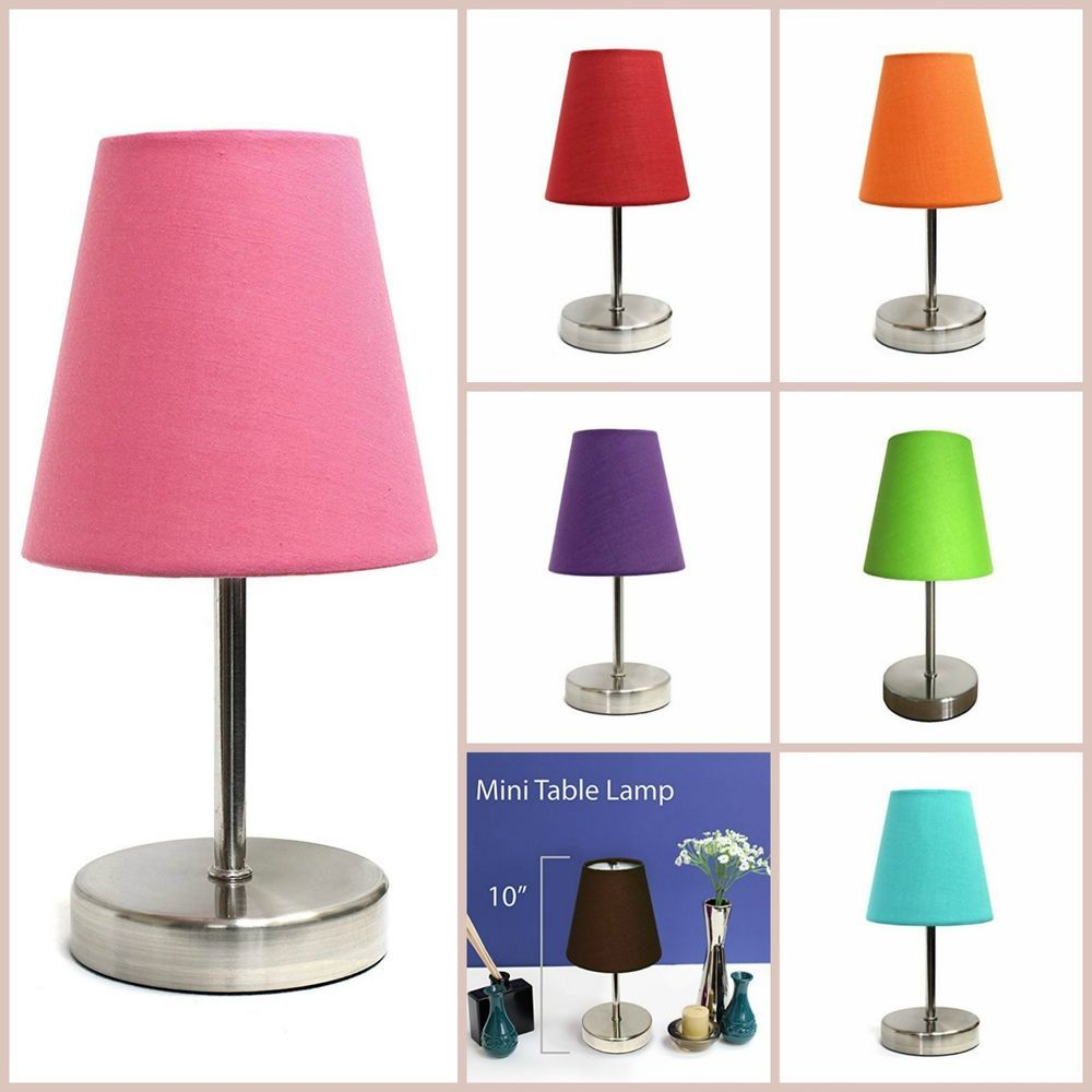 Mini table lamp living room lamps small contemporary desk table home